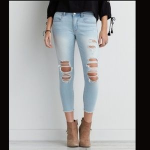 American Eagle Outfitters crop jeggings